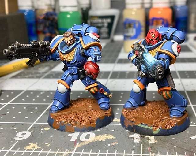 The Lieutenants are looking for some decals and a finished base! Pretty much complete!